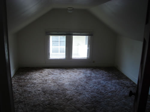 An interior picture of the three-bedroom  house on 117 N. Asbury in Moscow, Id