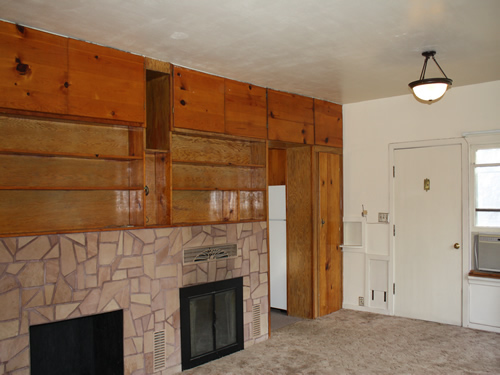 Interior pictures of the house on 206 Garfield Street in Moscow, Id