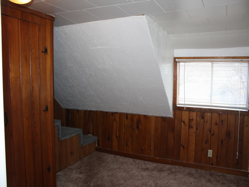 An interior picture of the three-bedroom house on 207 N. Asbury, Moscow, Id