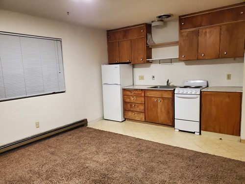 A one-bedroom apartment at The Zephyr Apartments, apt. 9 at 410 S. Lilly in Moscow, Id