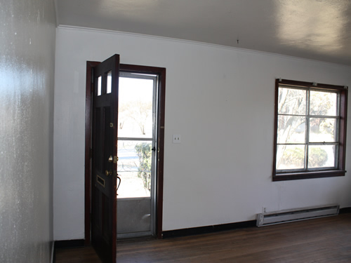 Interior picture of the two-bedroom house on 422 N. Washington in Moscow, Id