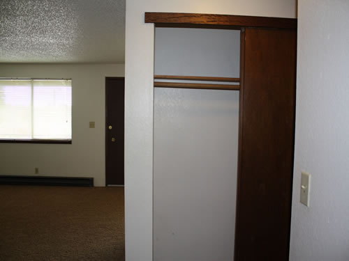 A two-bedroom at The Olympus Plus Apartments on 1200 HIllside Circle in Pullman, Wa