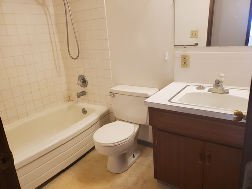 A one-bedroom at The Aegis Apartments, 1610 Wheatland Drive, apt. 3, Pullman, Wa 99163