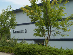 Exterior picture of The Lamont Apartments on Lamont Street in Pullman, Wa