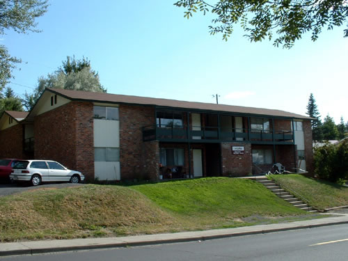 Exterior picture of The Lethe I apartments, 1605 Valley Road in Pullman, Wa