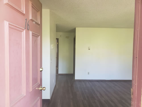 A two-bedroom at The  Valley View Apartments, 1425 Valley Rd., #16, Pullman WA 99163