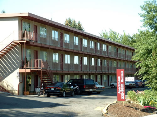 Exterior Of The Valley View Apartments, 1325 1425 Valley Road, Pullman, Wa
