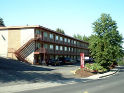 Exterior of The Valley View Apartments, 1325-1425 Valley Road, Pullman, Wa